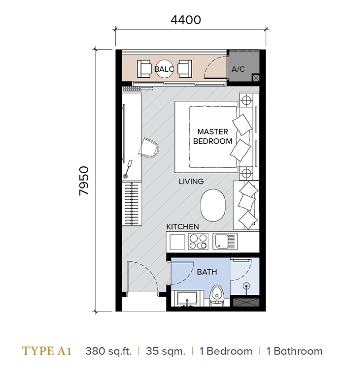 ion majestic floor plan A1