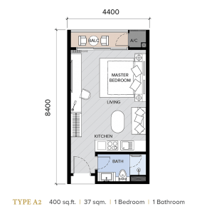 ion majestic floor plan A2
