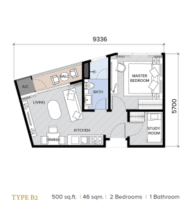 ion majestic floor plan B2