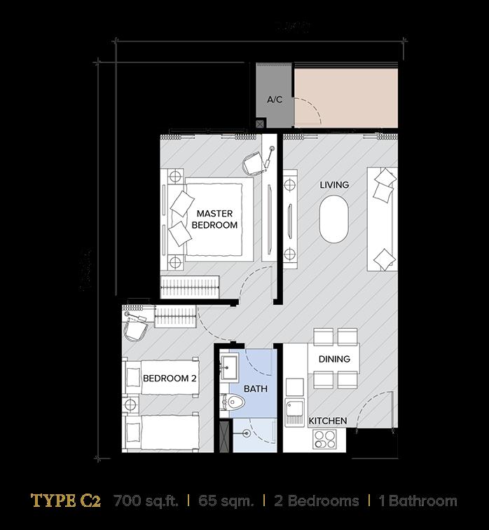 ion majestic floor plan C2