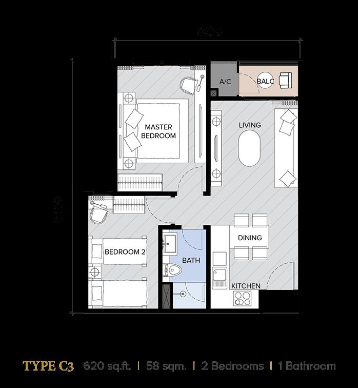 ion majestic floor plan C3
