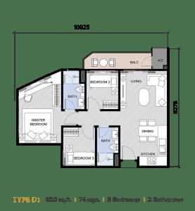 ion majestic floor plan D1