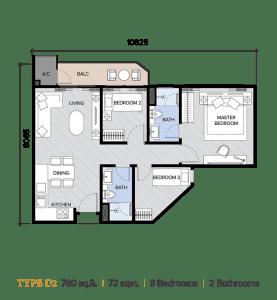 ion majestic floor plan D2