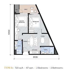 ion majestic floor plan E1