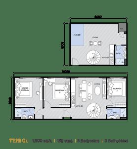 ion majestic floor plan G1